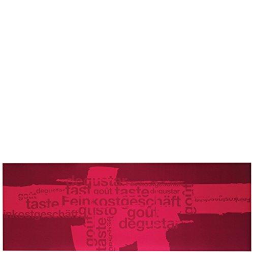 Laroom Alfombra, Vinylic Flooring PVC-Antislip, Rojo