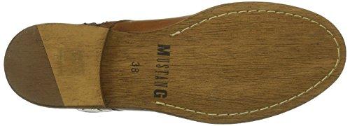 Mustang Damen Kurzschaft Stiefel Braun (300 nussbraun)