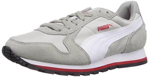 Puma St Runner Nl, Unisex-Erwachsene Laufschuhe Training Grau (limestone gray-white-gray violet 09)