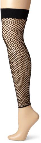 Leg Avenue Netz-Strumpfhose ohne Fuss  O/S, 1 Stück (Adult Strumpfhosen Footless)