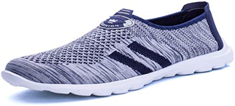 KMJBS Calzado de Hombre/Verano Insufló Zapatos Tenis para Hombres Zapatos De Los Deportes Los Estudiantes' Light  -