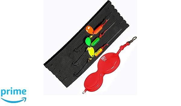DIETER EISELE Flounder-Spoon 60g in der Farbe Rot Buttlöffel
