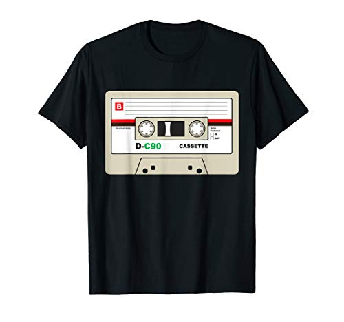 Kostüm 80er Rave Jahre - 80er Party Outfit shirt Kostüm Kassette Hits T-Shirt