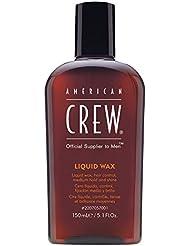 AMERICAN CREW LIQUID WAX Cire Liquide Tenue/Brillance Moyennes, 150ml