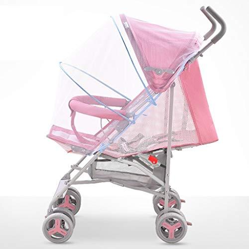XP Kinderwagen-Baby-Laufkatze Leichtes faltbares kann sitzen/liegen Kinderlaufkatze-volle Netz-Belüftung justierbare Markise mit Einkaufskorb mit Moskitonetz-Kohlenstoffstahl-Eva-Schaum-Stoßdämpfer