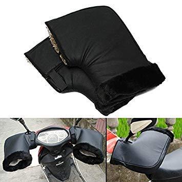 Casavidas Waterproof Motorcycle Winter Warm Protective Handlebar Muffs Gloves