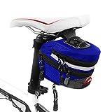 Goodtimes28 Ausverkauf Angebote Portable Outdoor Radfahren MTB Mountainbike Rücksitz Hinten Beutel Satteltasche Blue