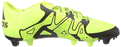 adidas X 15.3 FG/AG, Chaussures de football homme Jaune - Gelb (Solar Yellow/Solar Yellow/Core Black)