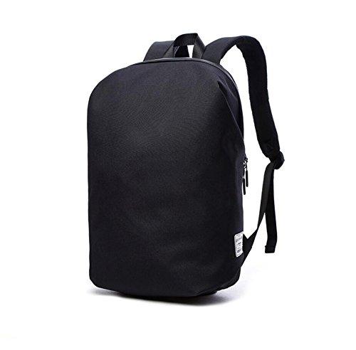 """Valleycomfy Simple New laptop notebook bag di tela zaino (fino a 15.6"""") per il tempo libero/business/viaggio/studenti schoolbag Hiptop Bags, Nero"""