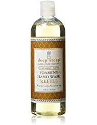 Deep Steep Foaming Hand Wash Refill, Brown Sugar Vanilla 474 ml