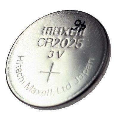 Maxell CR2025 3V al litio moneta batteria