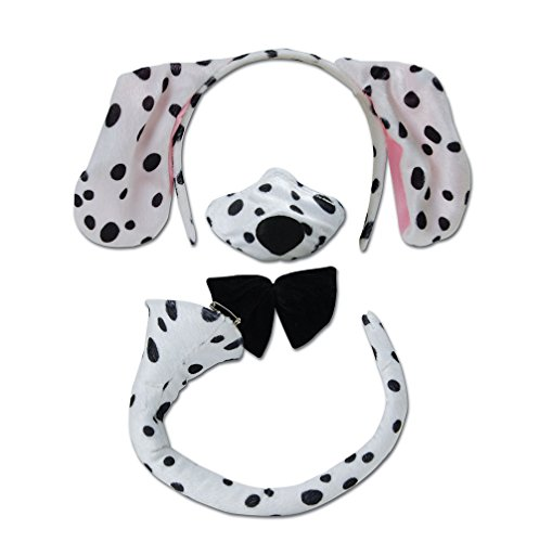 Dalmatian Set and Sound costume Kids Fancy Dress (Kostüm Dalmatiner)