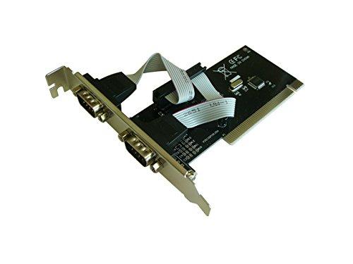 KALEA-INFORMATIQUE PCI Controller Karte/2Ports Serie COM RS232/Version wirtschaftliche mit Chipsatz WCH CH3510-Kompatibel Windows 98SE, ME, 2000, XP, NT4.0, Vista, Seven, 8, 8.1, 10