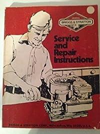 Briggs & Stratton Service & Repair Instr