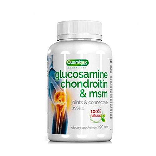 Quamtrax Essentials Glucosamine Chondroitin & MSM   90 tabls.