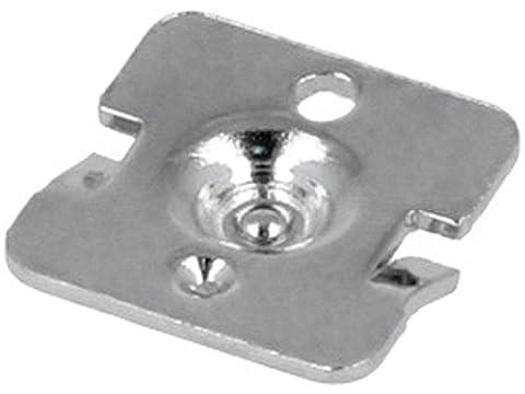 20x KEYS5225 Button-like contact Size AAA, AAAA, N Mounting screwed 5225