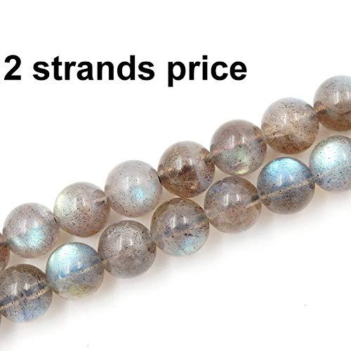 edelstein perlen für die herstellung von schmuck, 100% natürlichen AAA - Note, verkauft pro Sack 2 teilbereiche innerhalb (labradorit, 6mm) ()