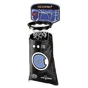 Sport1-Juego Canestro Lavadora Basket con Cesta para la Colada, Color Negro, 705100251