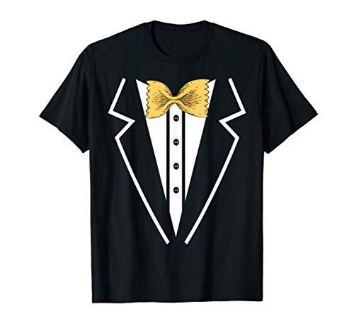 Fliege Nudeln Smoking Tuxedo Anzug T-Shirt - Tuxedo-anzug