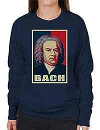 Bach Pop Art Womens Sweatshirt