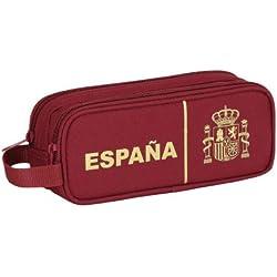 Selección Española - Estuche portatodo doble (Safta 811437513)