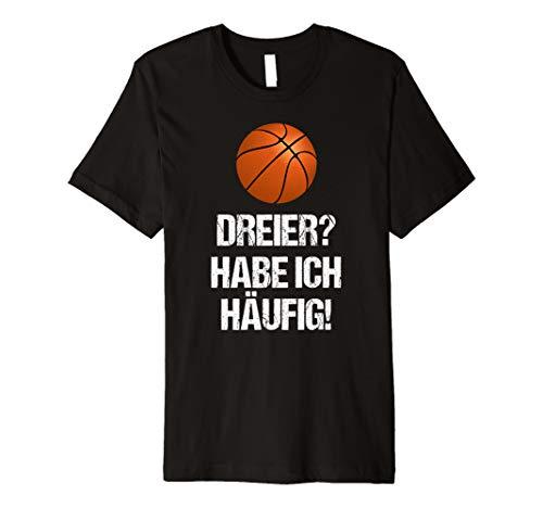 Dreier Basketball Sport Weihnachts Geschenk Lustiges Shirt