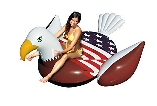 giant-rideable-patriotic-american-bald-eagle-inflatable-swimming-pool-float-by-swimline