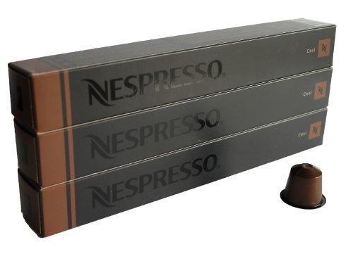 Shop for 30 Cosi Nespresso Capsules Espresso Lungo Nestle by Nestlé