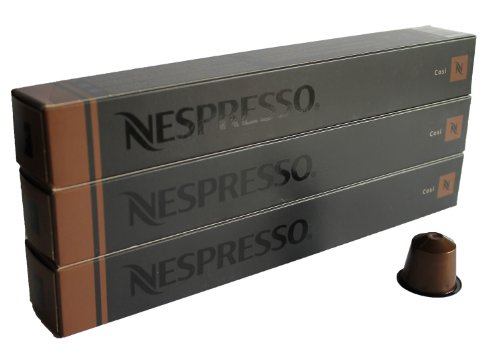 Preisvergleich Produktbild Nespresso Sortiment Cosi (Espresso),  30 Kapseln