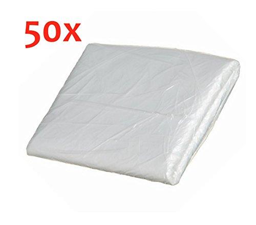 Preisvergleich Produktbild 50 x Abdeckplane Abdeckfolie Malerfolie für Mike Sander 20m² (4x5m)