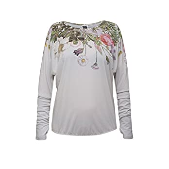 "RobeCode Longsleeve""Flora"" – Sommer Shirt, Langarm mit Blumenprint – atmungsaktiv"