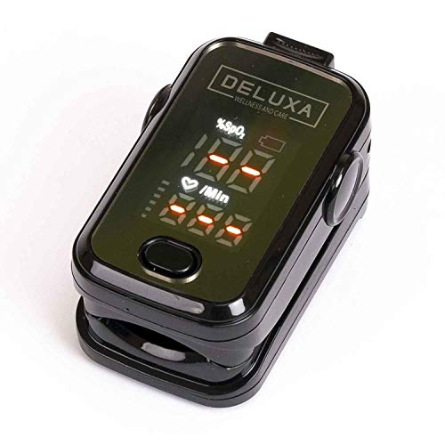 Fingerpulsoximeter für Herzfrequenz und Sauerstoffgehalt Fingerpulsoximeter