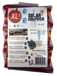 Solar-Dripper Arrosage Automatique Goutte à Goutte Solaire XL par 6
