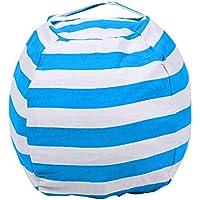 Gfone Aufbewahrungstasche Gefüllte Speicher Tasche Stuhl Tragbare Kinder Kleidung Spielzeug Großer Sitzsack Stofftier Aufbewahrung Stuhl Plüschtier Organizer Perfekte Speicherlösungen Bean Bag (See blau) preisvergleich bei kinderzimmerdekopreise.eu