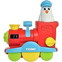 """TOMY Wasserspielzeug für Kinder """"Seifenblasen Lok"""" mehrfarbig - hochwertiges Kinderspielzeug für die Badewanne - fördert motorische Fähigkeiten - ab 1 Jahr"""