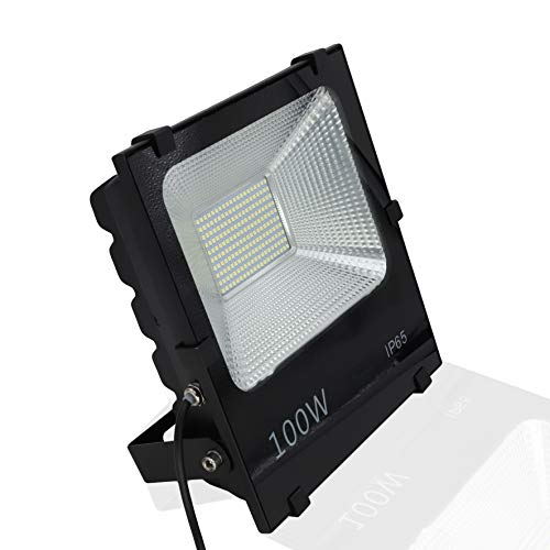 Floodlight Led Foco Proyector Led para Exterior Iluminación Decoración 6000k IP65 Negro...
