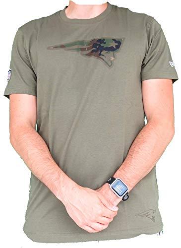 NFL - New England Patriots - T-Shirt | militärgrün 4XL