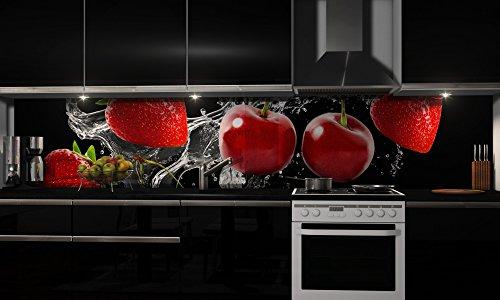 ie selbstklebend | Jelly | Klebefolie in verschiedenen Größen | Fliesenspiegel | Dekofolie | Spritzschutz | Küche | Möbel-Folie ()