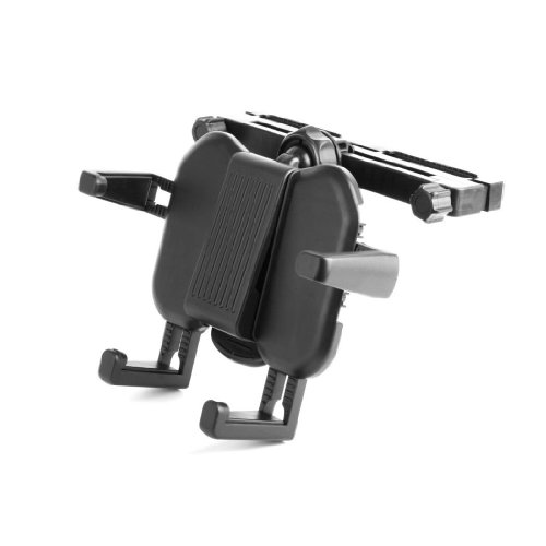 DURAGADGET Praktische Kfz-Kopfstützenhalterung für Lenco DVP-1045, DVP-939, MES 403, DVP-739 X2, DVP-938 X2 und DVP-7401 X2 WHITE DVD-Player