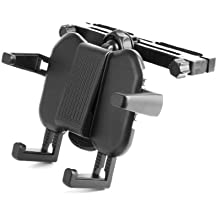Premium In-Car Adjustable Headrest Mount with Flexible Arms for Logik L7SPDVD16 Portable DVD Player - by DURAGADGET