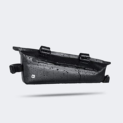 73JohnPol Rhinowalk Fahrrad Front Beam Triangle Bag wasserdichte TPU Mountain Road Bike Langstrecken Reiten Satteltasche (Farbe: schwarz) (Größe: 2.2L) (Bike Road Bag Triangle)