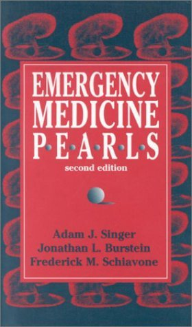 Emergency Medicine Pearls by Adam J. Singer MD (2000-11-13)