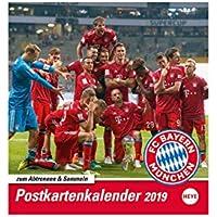 FC Bayern München Postkartenkalender 2019