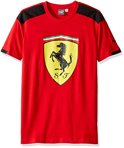 puma-mens-sf-big-shield-tee-rosso-corsa-small