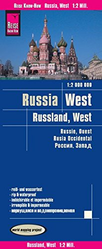 Russland West : 1/2 000 000 par Reise Know-How