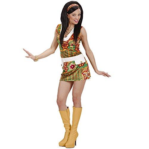 Widmann 73333 - Kostüm 60-er Lady, Kleid und Haarband, Größe L