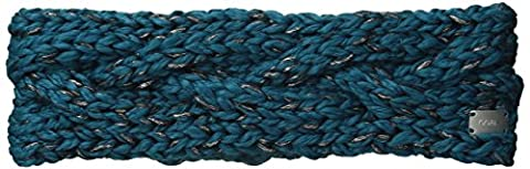 Coal Women's The Greer Chunky Hand-Knit Headband, Petrol, One Size