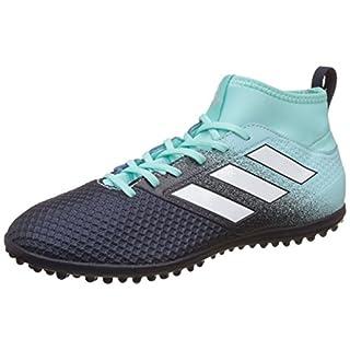 adidas Men's Ace Tango 17.3 TF Trainers Fitness Shoes, Multicolour Black/Green, 8 (42 EU)