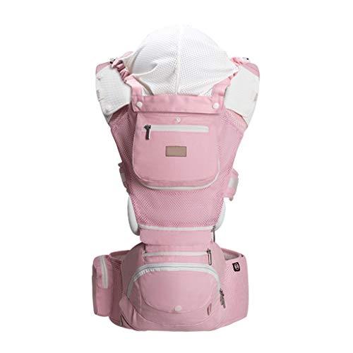 Porte-bébé Multifonction Respirant Bébé Tissu de Coton Confortable pour l'été ( Color : A )