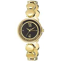Sonata Analog Black Dial Women's Watch -NK8136YM03